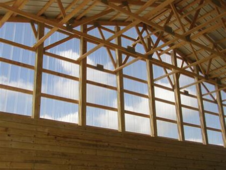 Corrugated Polycarbonate Skylight Amp Sidelight Panels
