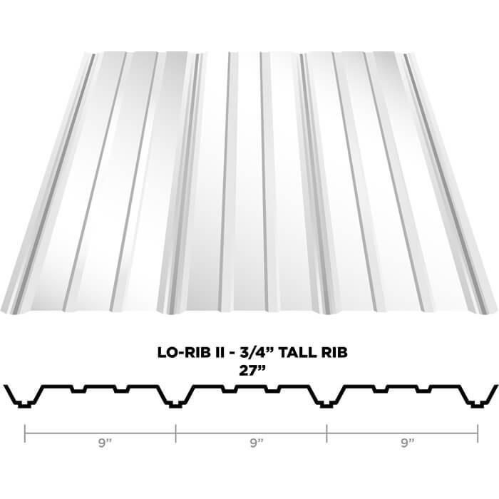 Lo Rib Ii Panels Alternate To Metal Panels Custom Metal